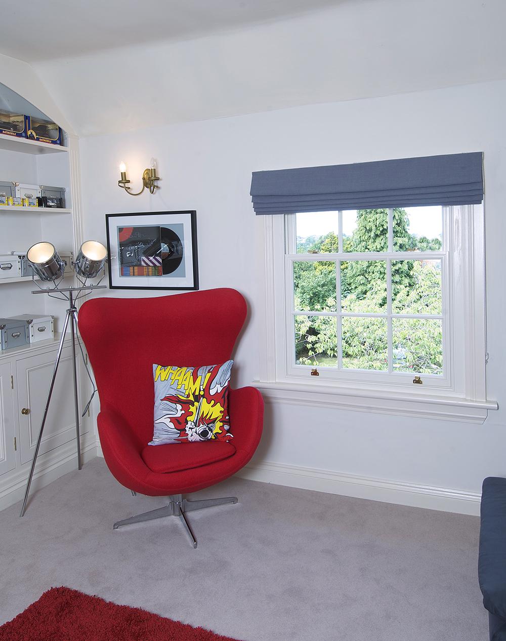 Denton Wolverhampton internal sash window