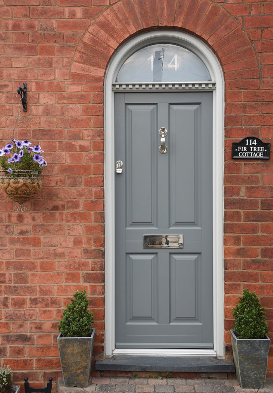 Timber wooden front doors Leamington Spa