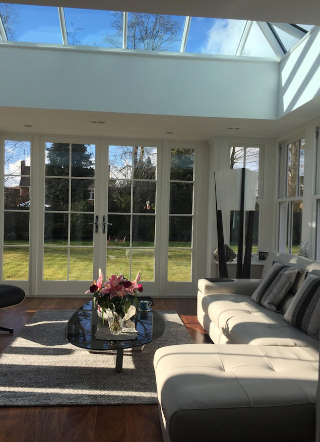 Timber roof lantern, windows, & orangery Birmingham