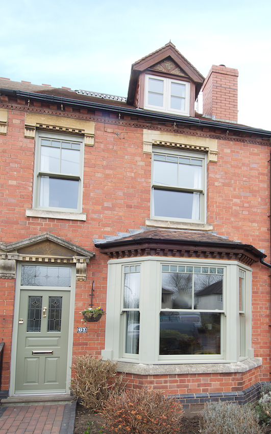 Timber wooden doors, bay & sash windows Leamington Spa