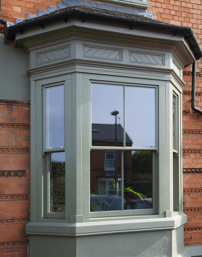 wooden casement window Leamington Spa