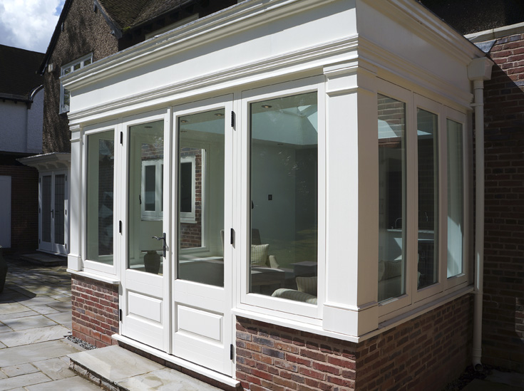 Timber orangery and doors West Midlands