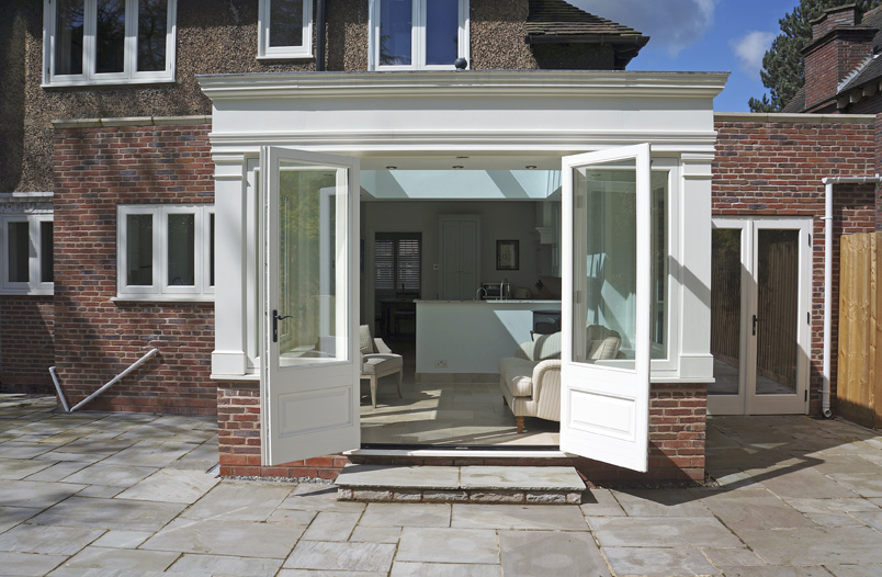 Timber orangery and doors Birmingham