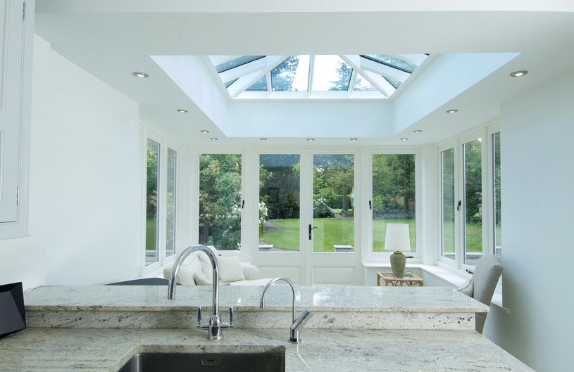 Timber Roof Lantern Birmingham Orangery