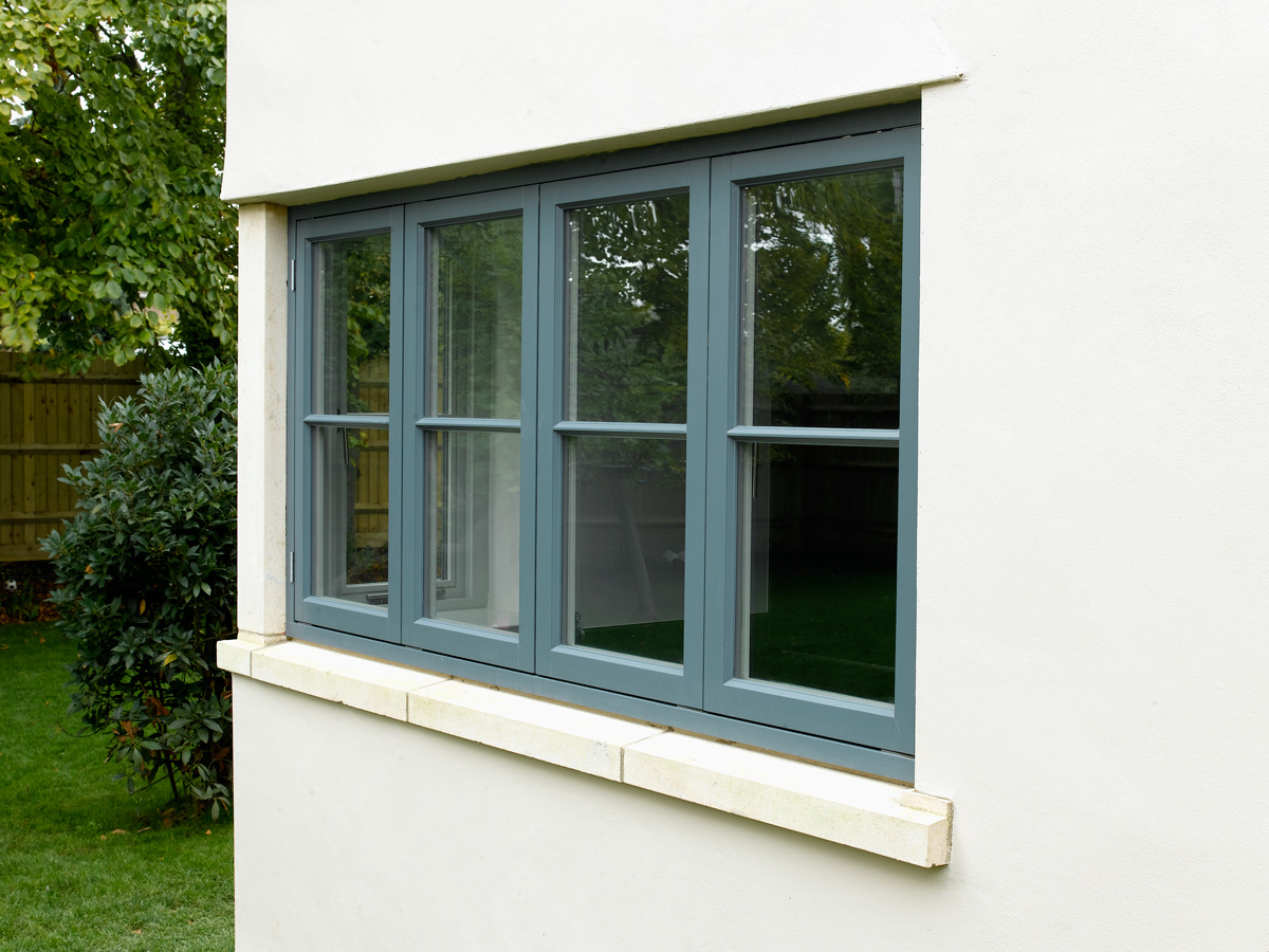 contemporary flush casement window georgian bar