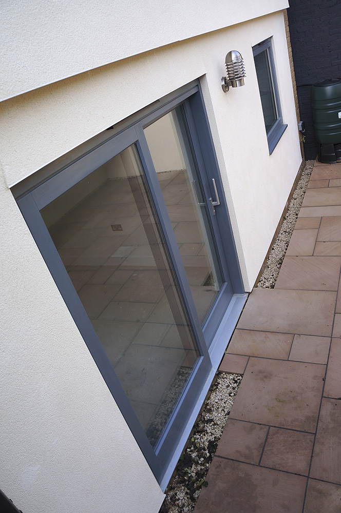 contemporary patio doors