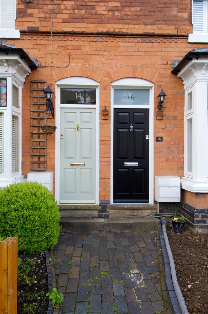 contrasting-front-entrance-doors-light-dark-brass-chrome-furniture-top-light