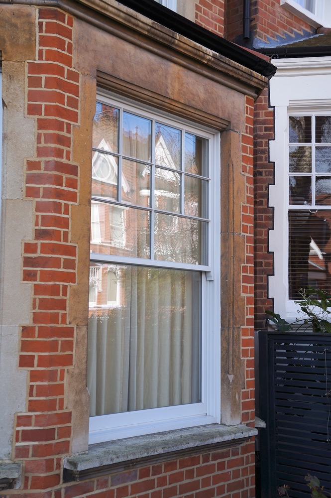 slim box timber sash windows West Midlands