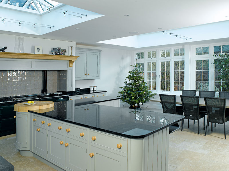 orangery case study beautiful kitchen