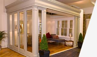 showroom wooden framed orangeries Leamington Spa