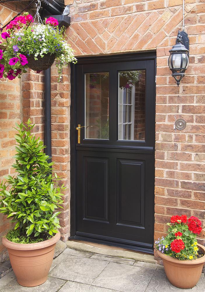 stable-back-entrance-door-black-brass-furniture-glass-panel
