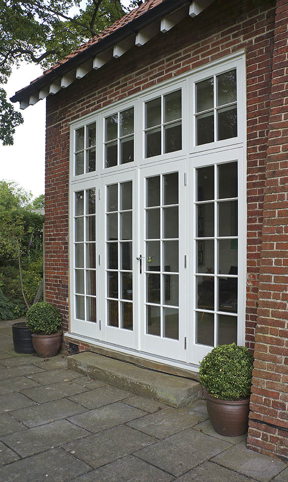 Timber French doors Birmingham