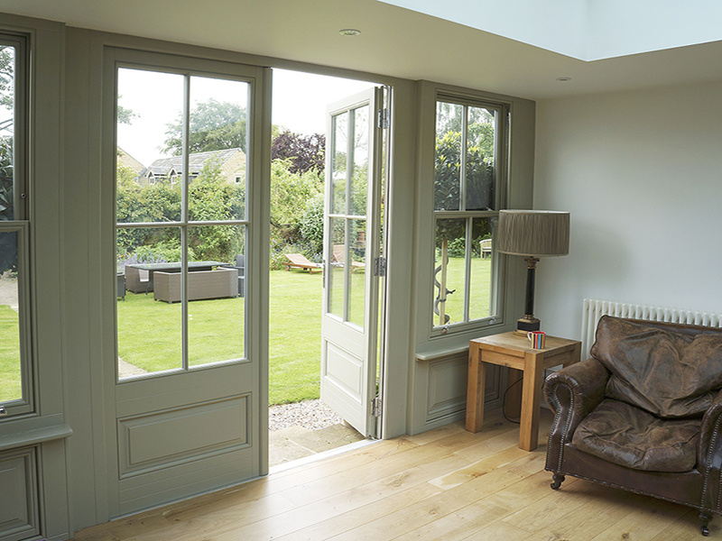 timber-french-door-olive-grey-panels-georgian-grid