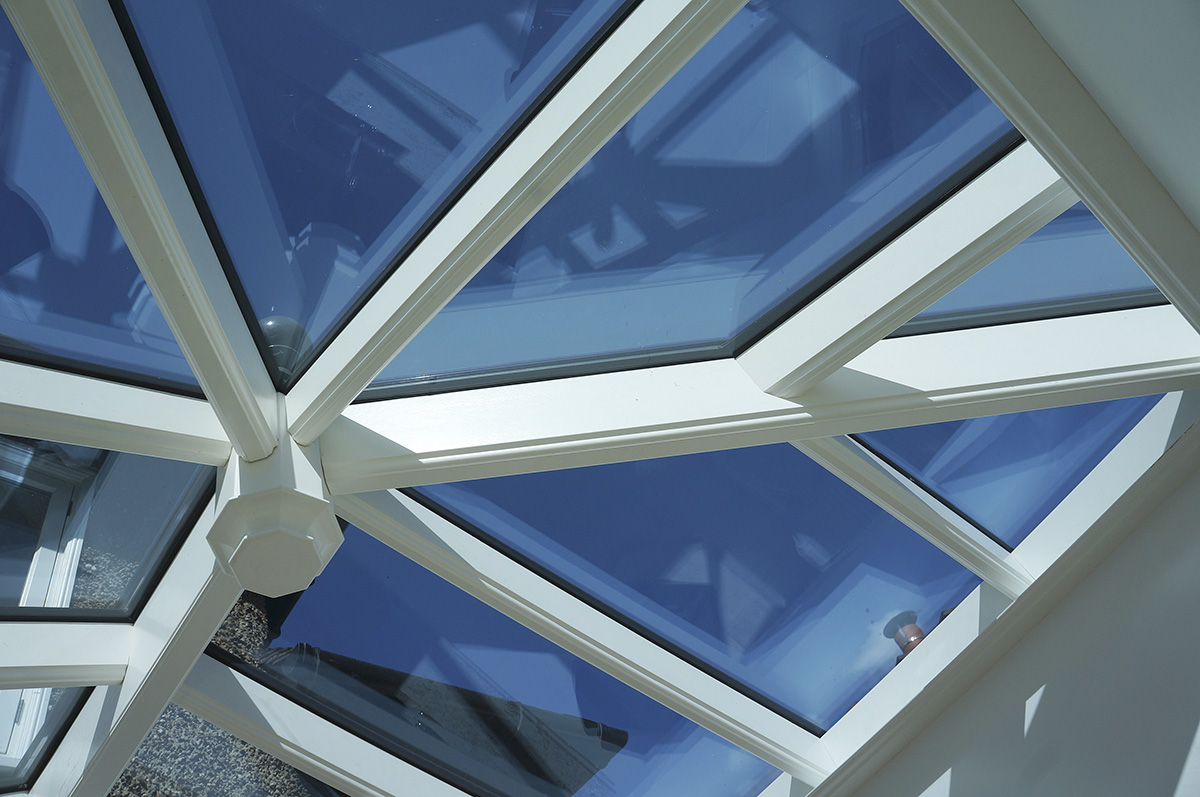 timber orangery roof lantern