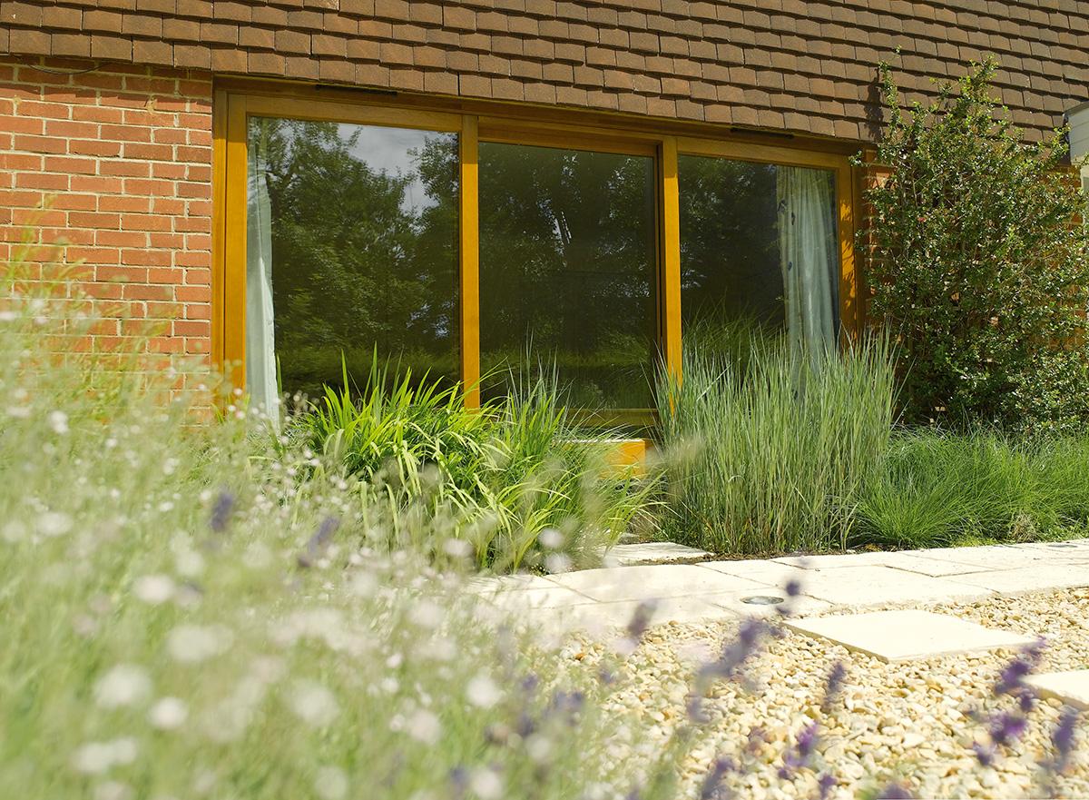timber-patio-sliding-doors-oak-stain-exterior
