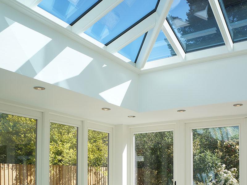 Timber orangery & roof lantern West Midlands