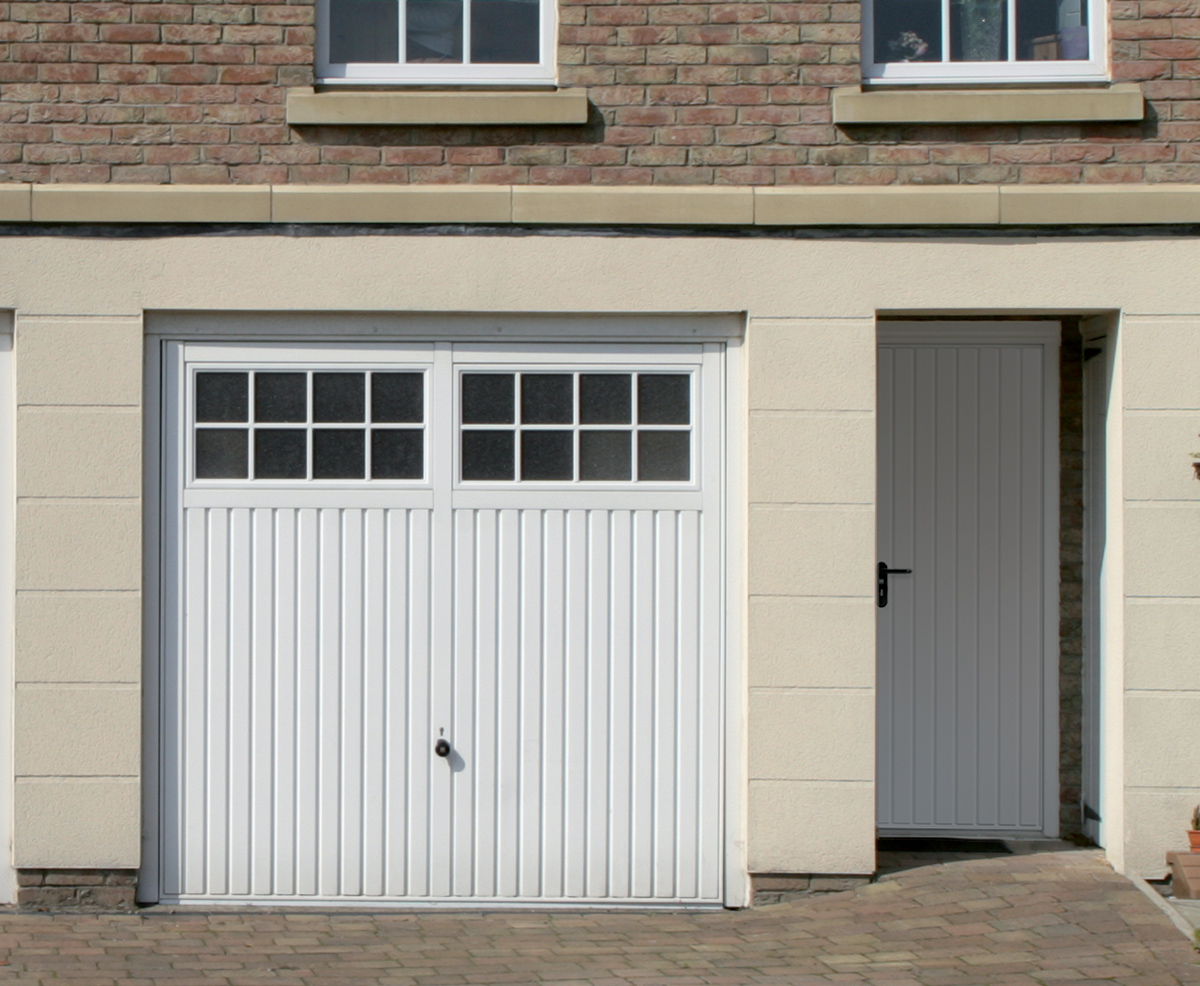 white-garage-door-glass-georgian-bars-up-and-over