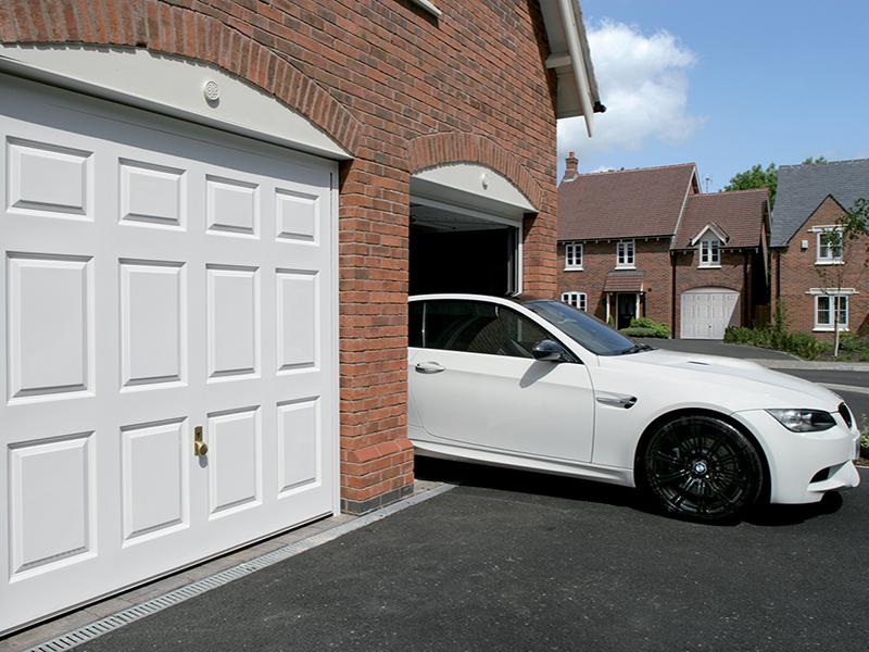 up and over wooden garage doors