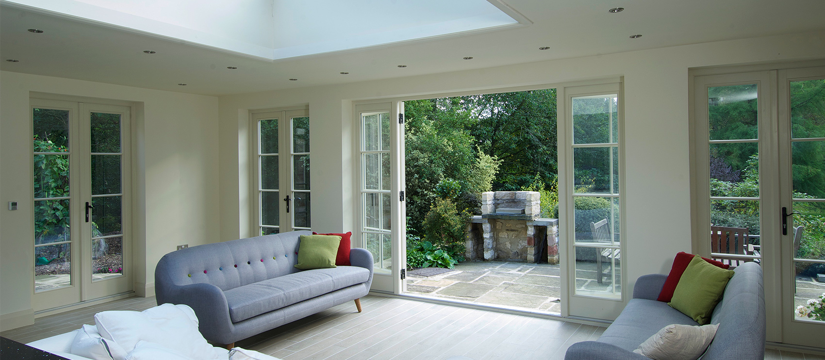 Timber wooden french doors