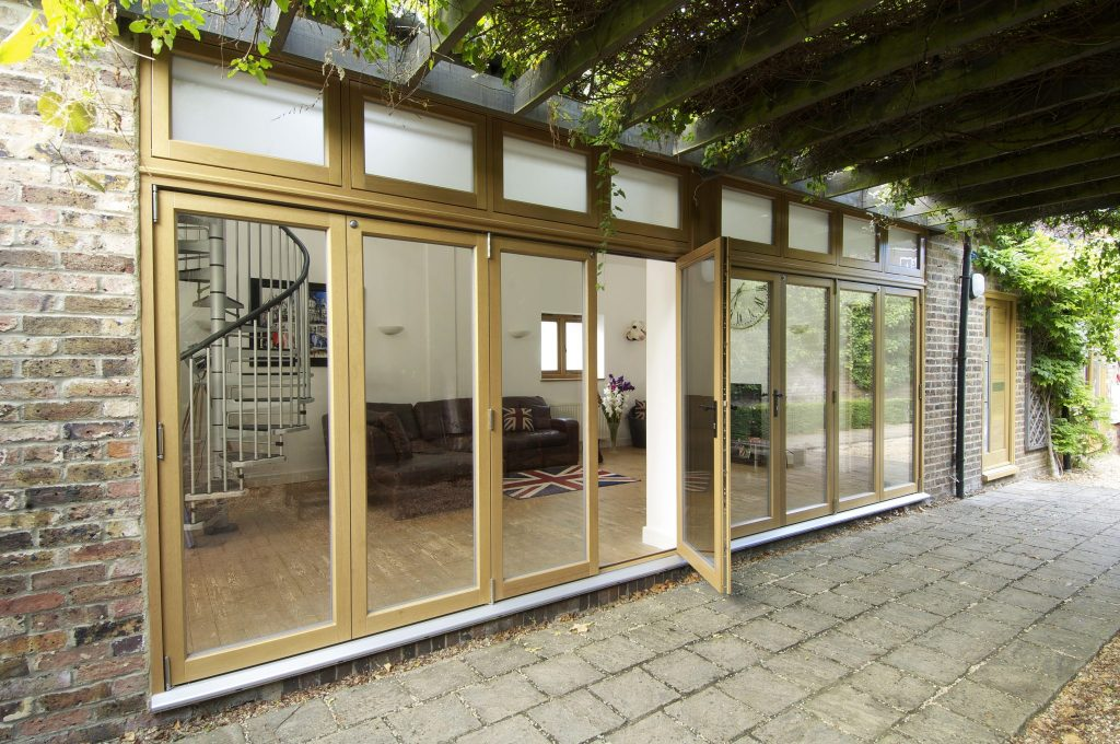 Timber bi-fold doors Birmingham, West Midlands, UK