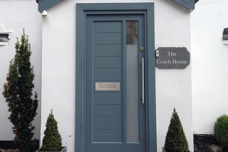 Timber wooden entrance doors Leamington Spa